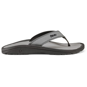 OluKai Ohana Sandals Men black/black